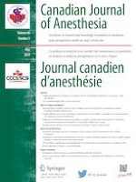 Canadian Journal of Anesthesia/Journal canadien d'anesthésie 5/2019