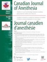 Canadian Journal of Anesthesia/Journal canadien d'anesthésie 11/2020