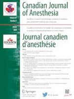 Canadian Journal of Anesthesia/Journal canadien d'anesthésie 3/2020
