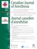 Canadian Journal of Anesthesia/Journal canadien d'anesthésie 5/2020