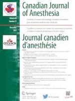 Canadian Journal of Anesthesia/Journal canadien d'anesthésie 11/2021