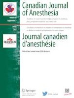 Canadian Journal of Anesthesia/Journal canadien d'anesthésie 1/2021