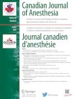 Canadian Journal of Anesthesia/Journal canadien d'anesthésie 8/2021