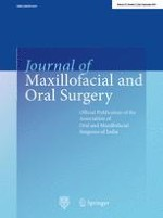 Journal of Maxillofacial and Oral Surgery 3/2016