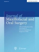Journal of Maxillofacial and Oral Surgery 1/2017