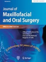Journal of Maxillofacial and Oral Surgery 1/2019