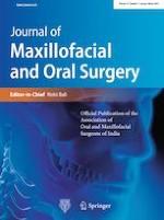 Journal of Maxillofacial and Oral Surgery 1/2020