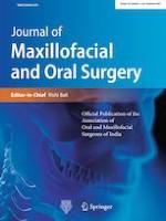 Journal of Maxillofacial and Oral Surgery 3/2021