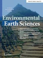 Environmental Earth Sciences 8/2013