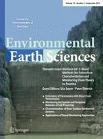 Environmental Earth Sciences 5/2014