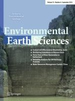 Environmental Earth Sciences 6/2014