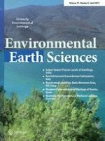 Environmental Earth Sciences 8/2015