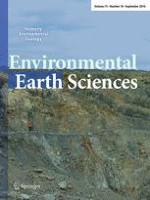 Environmental Earth Sciences 18/2016
