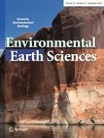 Environmental Earth Sciences 18/2020