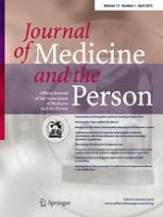 Journal of Medicine and the Person 1/2015