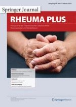 rheuma plus 1/2019