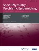 Social Psychiatry and Psychiatric Epidemiology 12/2008