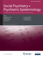 Social Psychiatry and Psychiatric Epidemiology 5/2008