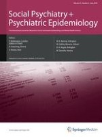Social Psychiatry and Psychiatric Epidemiology 6/2010