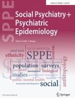 Social Psychiatry and Psychiatric Epidemiology 7/2017