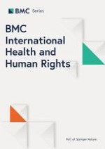 BMC International Health and Human Rights 1/2012