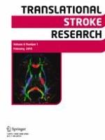 Translational Stroke Research 1/2015