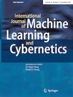 International Journal of Machine Learning and Cybernetics 12/2019