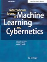 International Journal of Machine Learning and Cybernetics 4/2019