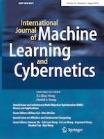International Journal of Machine Learning and Cybernetics 8/2019