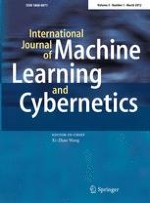International Journal of Machine Learning and Cybernetics 1/2012