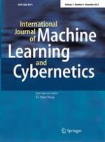 International Journal of Machine Learning and Cybernetics 4/2012