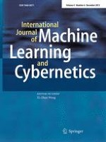 International Journal of Machine Learning and Cybernetics 6/2013