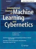 International Journal of Machine Learning and Cybernetics 6/2015