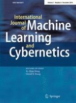 International Journal of Machine Learning and Cybernetics 6/2016