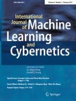 International Journal of Machine Learning and Cybernetics 1/2017