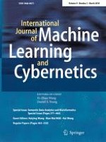 International Journal of Machine Learning and Cybernetics 3/2018