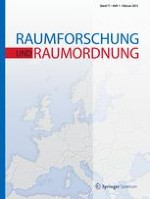 Raumforschung und Raumordnung 1/2013