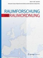 Raumforschung und Raumordnung |  Spatial Research and Planning 2/2014