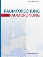 Raumforschung und Raumordnung 1/2016