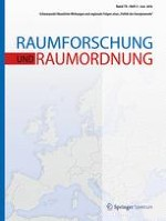 Raumforschung und Raumordnung |  Spatial Research and Planning 3/2016