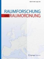 Raumforschung und Raumordnung |  Spatial Research and Planning 4/2016