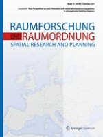Raumforschung und Raumordnung |  Spatial Research and Planning 6/2017
