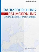 Raumforschung und Raumordnung |  Spatial Research and Planning 1/2018