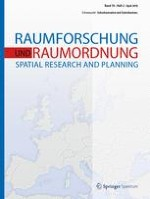 Raumforschung und Raumordnung |  Spatial Research and Planning 2/2018