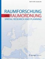 Raumforschung und Raumordnung |  Spatial Research and Planning 6/2018