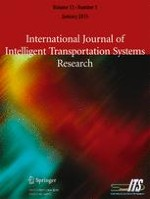 International Journal of Intelligent Transportation Systems Research 1/2015