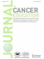 Journal of Cancer Education 1/2013