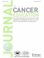 Journal of Cancer Education 1/2017