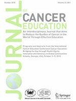Journal of Cancer Education 1/2018