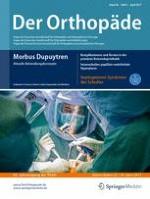 Der Orthopäde 4/2017